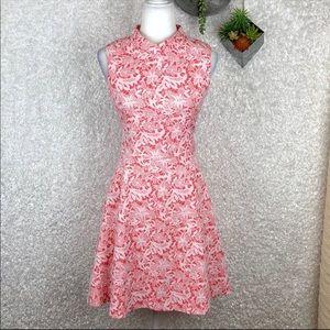 Yumi Textured Fit & Flare Dress | 10